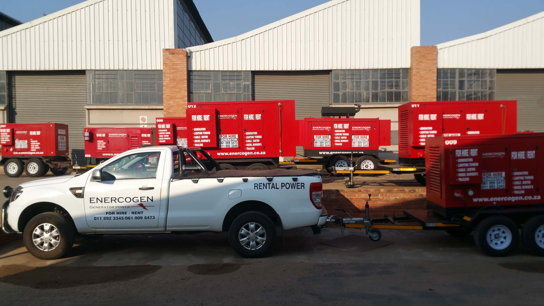 Generator Hire South Africa