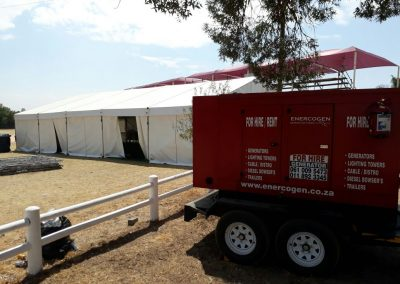 Equestrian Horse Riding Event at Kyalami Event Power Supplied