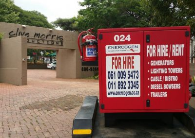 Super Silent Solution at Film shoot in Randburg (3)